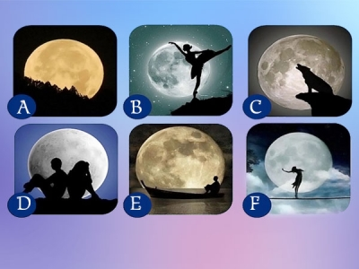Pick A Moon To Know Your Personality
