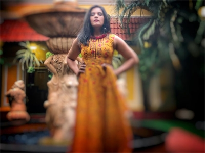 Richa Chadha Stuns In A Bright Attire