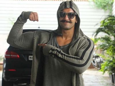 Ranveer Singh's Spooky Look
