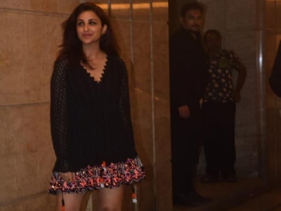 Parineeti Chopra Stuns In An LBD