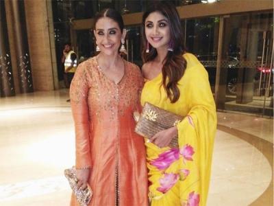 Shilpa & Manisha's Wow Ethnic Outfits
