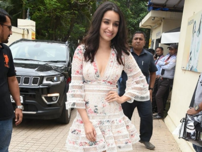 Shraddha Kapoor Woos In A Floral Dress