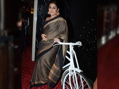 Vidya Balan's Earthy Sari