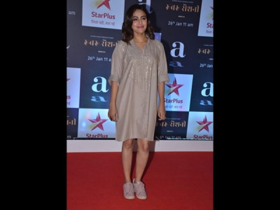 Swara Bhasker's Muted Shift Dress