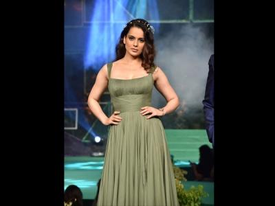 Kangana Ranaut's Green Gown