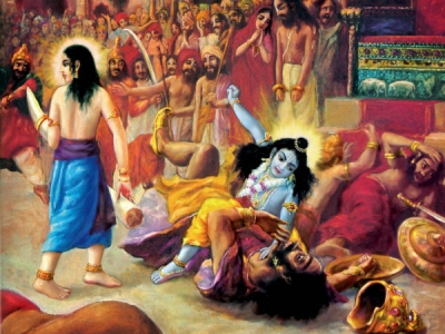 How Lord Krishna Killed Kamsa
