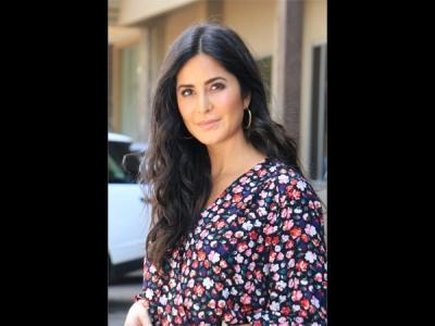 Katrina Kaif Woos In A Floral Dress