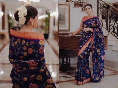 Taapsee Pannu's Stunning Sari