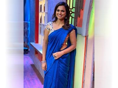 Ramya Pandian's Linen Sari