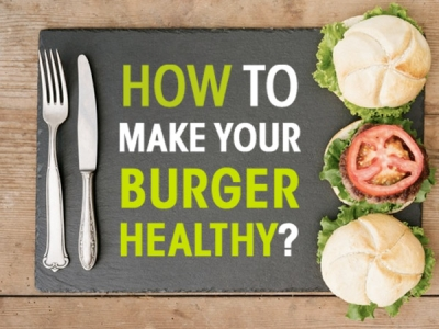 How To Make Healthy Burgers?