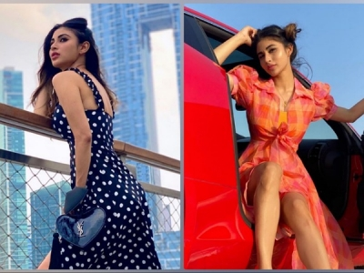 Mouni Roy's Dresses On Her Birthday