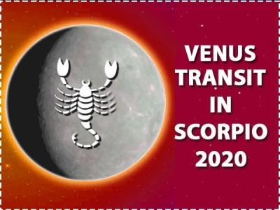 Venus Transit In Scorpio 2020