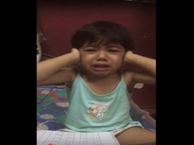 Video Of Child Crying While Learning Shows Us How Our Tough Ways Are Hampering Young Minds
