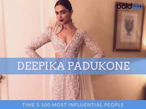 Deepika Looked Like Princess Elf At Time Magazine's Event