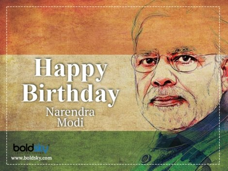 Narendra Modi's 69th Birthday: Wishes Pouring In For The Prime Minister On Twitter