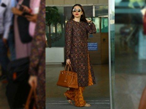 Karisma Kapoor Looks Elegant In Her Vibrant Yet Understated Suit