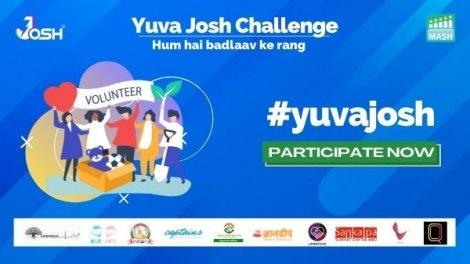 Josh And Mash Project Foundation Collaborate To Launch #YuvaJosh Challenge
