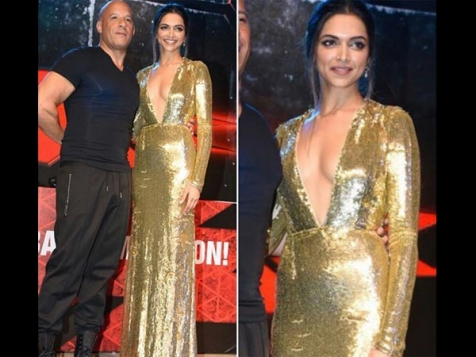 Deepika Padukone Is Bold & Beautiful @ XXX: The Return Of The Xander Cage Promotions