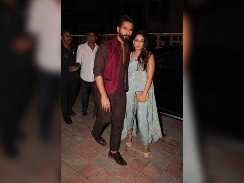 Shahid & Mira Rocked Their Looks At Masaba Gupta's Diwali Bash