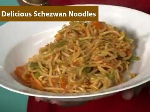 Delicious Schezwan Noodles Recipe