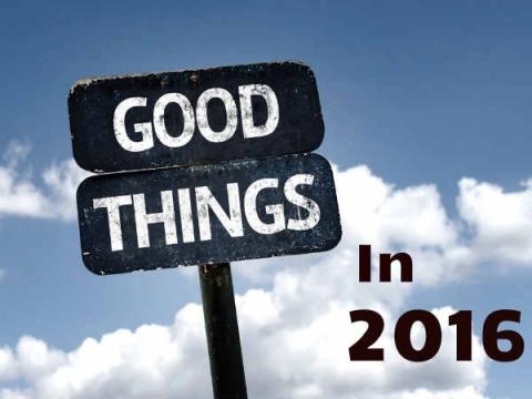 Good Things That Happened In 2016