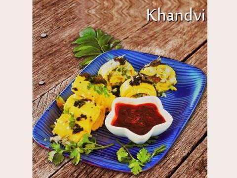 Khandvi Recipe: How To Make Gujarati Besan Khandvi At Home