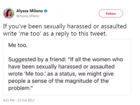 When #MeToo Floods Social Media With Stories Of Harassment And Assault