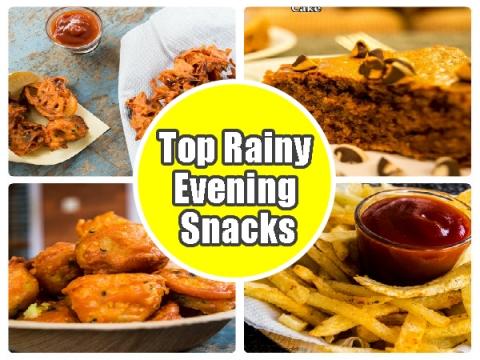 Top Rainy Evening Snack Recipes | Easy Snack Recipes