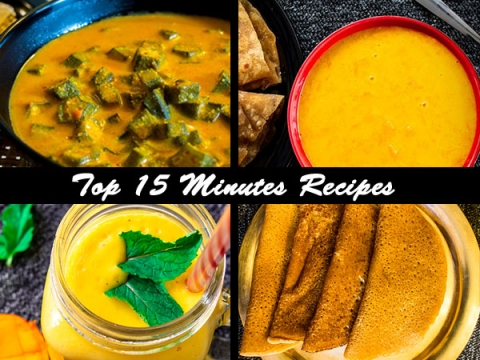Top 15 Minutes Recipes| Quick And Easy Indian Recipes