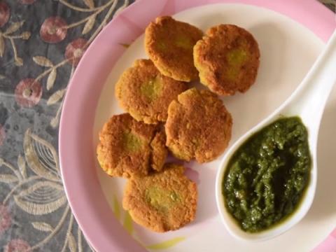 Chana Dal Cutlet Recipe | Chana Dal Tikki Recipe | Easy Veg Cutlet Recipe