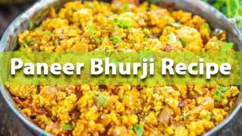 Paneer Bhurji Recipe: Here's How You Can Prepare It At Home