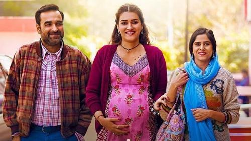 Mimi Posters: Kriti Sanon Turns Surrogate Mother; Flaunts Baby Bump In Fabulous Ethnic Maternity Wear