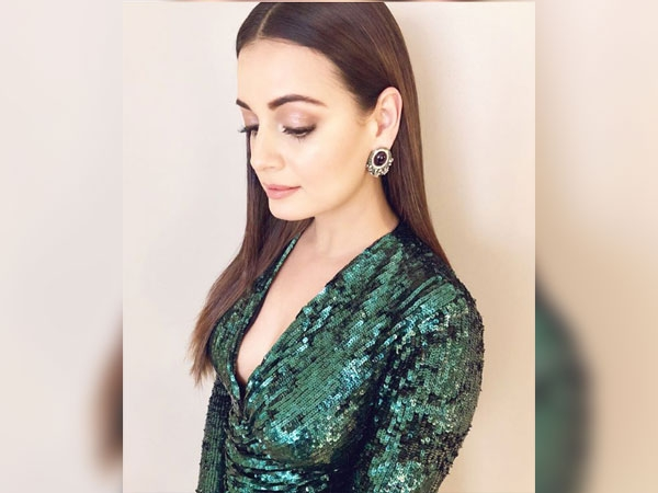 Dia Mirza Channels Her Inner Femme Fatale In This Glittering Dress