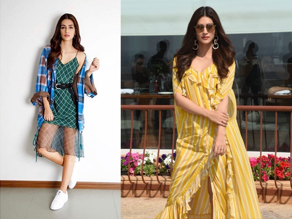 Sunshine Yellow Or Leaf Green: Which Resort Dress Of Kriti Sanon's Did You Like More?