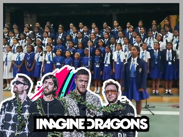 Bangalore School Kids Deliver An Impressive Rendition Of 'Believer' & Imagine Dragons Love It