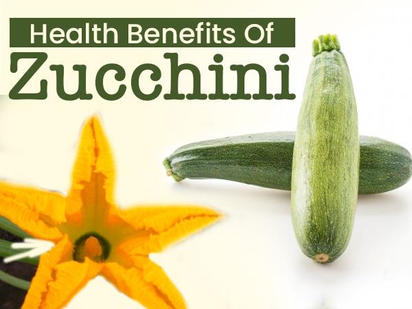 15 Amazing Health Benefits Of Zucchini