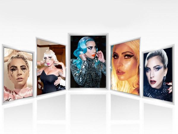 5 OTT Beauty Looks By Lady Gaga That Are Unusually Striking