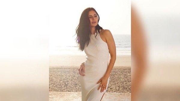 Katrina Kaif's White Dress Look