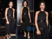 Freida Pinto's Vampire Style In Ferragamo Dress