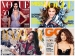 Hot Celebrities On April Magazine Covers 2015