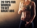 20 Tips For Women To Get Great Abs
