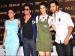 Chilling Scenes: SRK, Kajol, Varun And Kriti at PVR Cinemas