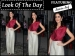 Look Of The Day: Katrina Kaif In Shades Of Wine & Ivory