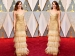 Emma Stone Winning Hearts At Oscar 2017 In Golden Givenchy