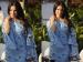 Sunny Leone Goes Stylish In A Light Blue Attire